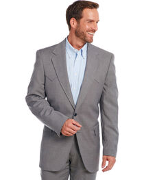 Circle S Men's Steel Grey Lubbock Sport Coat, , hi-res