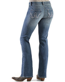 Wrangler Women's Premium Patch Booty Up Bootcut Jeans, , hi-res