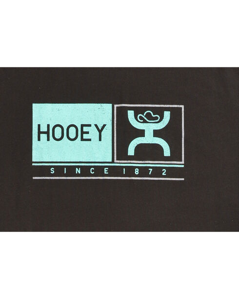 "Hooey Men's Black ""Roots"" Cotton Tee , Black, hi-res"