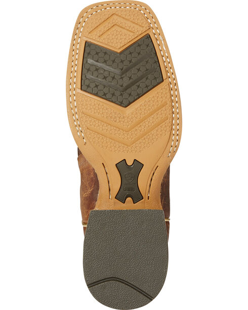 Ariat Women's Rosalee Patchwork Cowgirl Boots - Square Toe, Brown, hi-res