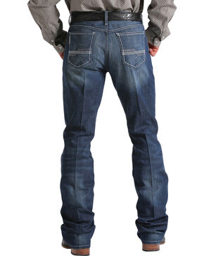 Cinch Men's Medium Wash Boot Cut Jeans, Indigo, hi-res