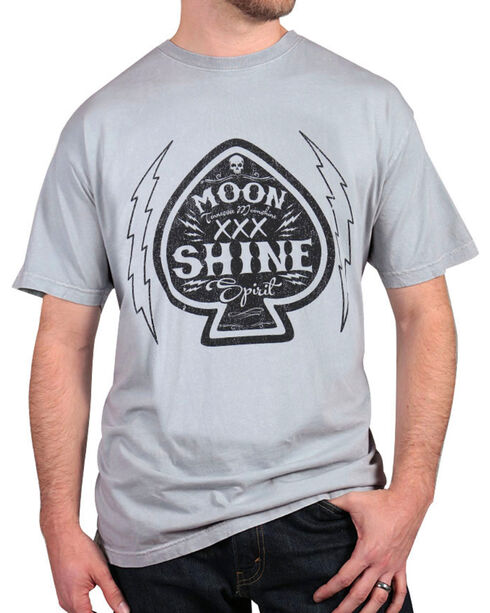 Moonshine Spirit® Men's Graphic T-Shirt, Grey, hi-res