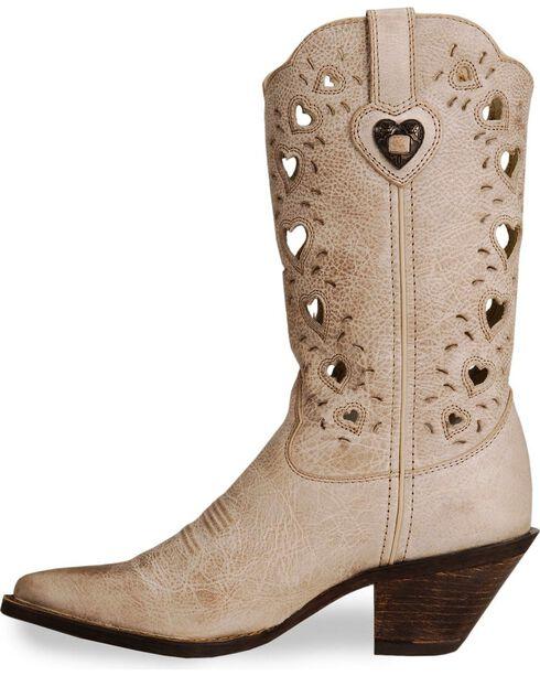 Durango Women's Crush Heartfelt Boots, Taupe, hi-res