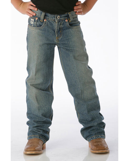 Cinch Boys' Low Rise Slim Fit Jeans (8-18) - Boot Cut, No Color, hi-res