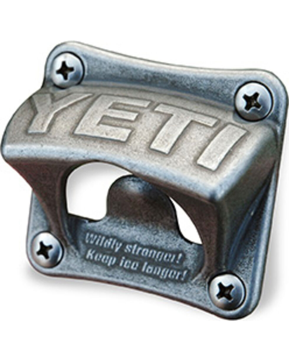 YETI Coolers Bottle Opener Wall Mount, Silver, hi-res