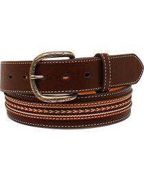 Cody James® Men's Arrow Stitched Belt, , hi-res