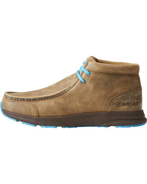 spitfire shoes. ariat men\u0027s brown spitfire shoes, dark brown, hi-res shoes