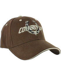 Cowboy Up Men's Embroidered Ball Cap, , hi-res