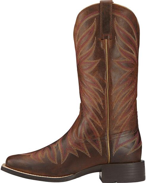 Ariat Women's Brilliance Performance Western Boots, Brown, hi-res