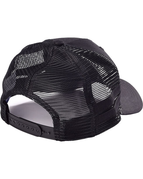 Cinch Boys' Black Mesh Back Trucker Cap , Black, hi-res