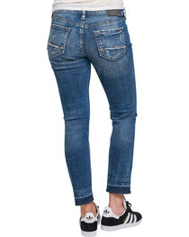 Silver Women's Indigo Dark Wash Sam Boyfriend Jeans - Tapered Leg , , hi-res
