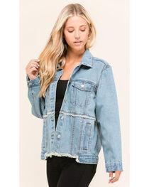 Polagram Women's Redone Denim Jacket, , hi-res