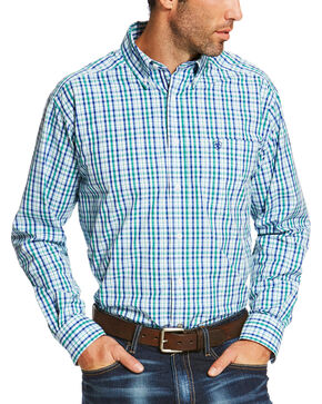Ariat Men's Multi Osman Long Sleeve Shirt - Big and Tall , Multi, hi-res