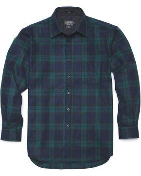 Pendleton Black Watch Plaid Classic Lodge Shirt, Black, hi-res