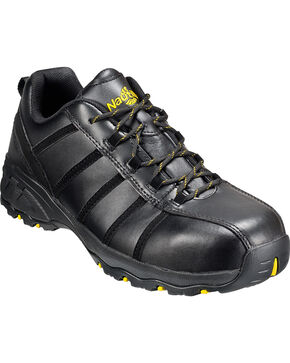 Nautilus Men's Composite Toe EH Athletic Work Shoes, Black, hi-res