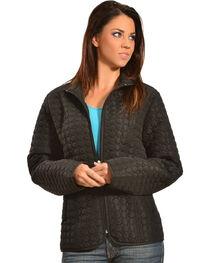 Jane Ashley Women's Quilted Circle Jacket, , hi-res