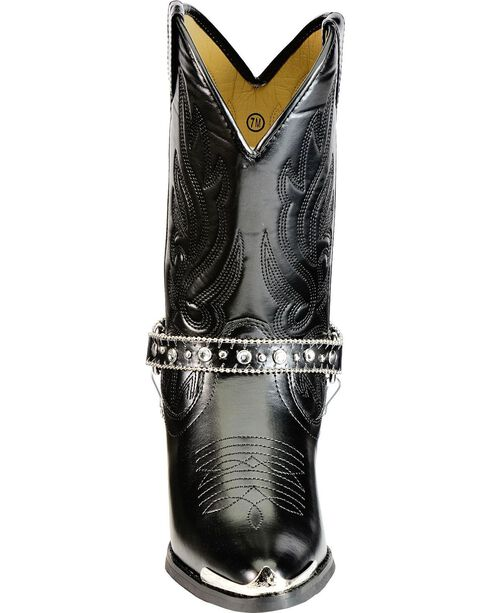 Smoky Mountain Charlotte Harness Cowgirl Boots - Pointed Toe, , hi-res