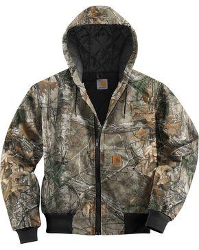 Carhartt Men's Realtree Camo Active Jacket, Camouflage, hi-res