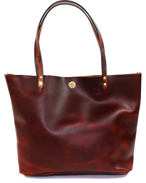 SouthLife Supply Women's Brick Square Tote, Mahogany, hi-res