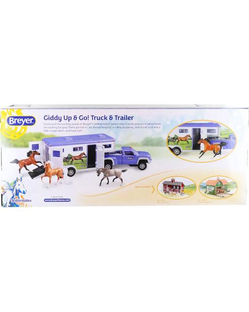 Breyer Giddy Up & Go! Truck & Trailer Toy Set , No Color, hi-res
