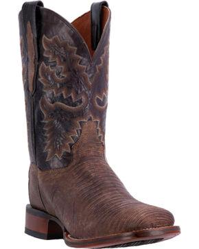 Dan Post Men's Hurst Lizard Cowboy Certified Western Boots, Chocolate, hi-res