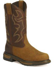Rocky Men's Branson Roper Work Boots - Steel Toe, , hi-res