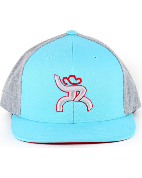 "Hooey Men's Roughy ""Hawk"" Ball Cap, Turquoise, hi-res"