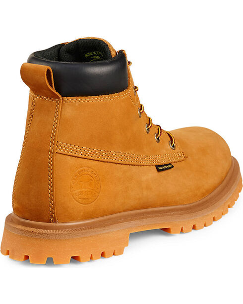 Red Wing Irish Setter Hopkins Insulated Waterproof Work Boots - Aluminum Toe , Wheat, hi-res
