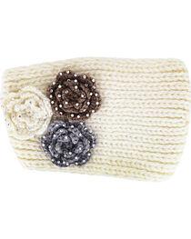 Shyanne® Women's Rhinestone Knitted Ear Warmer, , hi-res