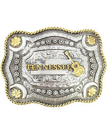 Cody James® Dual-Tone Tennessee Buckle, , hi-res