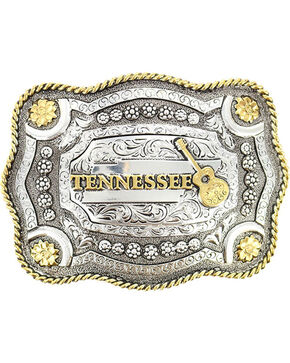 Cody James® Dual-Tone Tennessee Buckle, Multi, hi-res