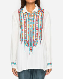 Johnny Was Women's Astry Rayon Blouse, , hi-res