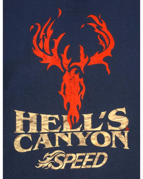 Browning Men's Navy Hells' Canyon Speed Long Sleeve T-Shirt , Navy, hi-res