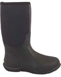 Smoky Mountain Men's Black Amphibian Boots - Round Toe , , hi-res