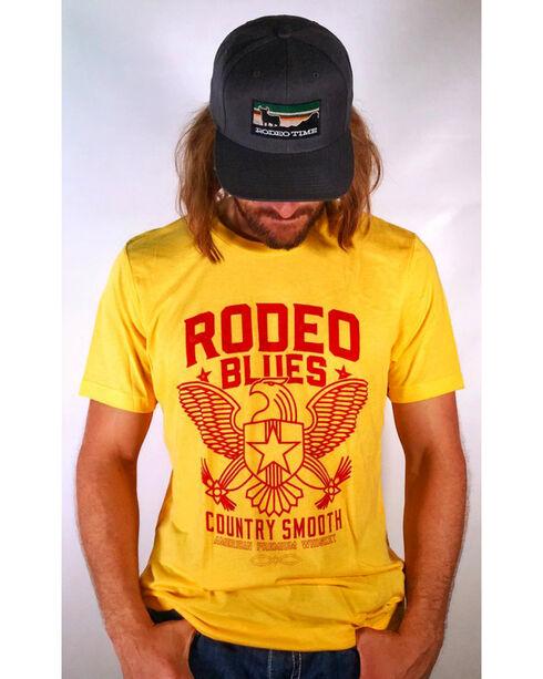 Dale Brisby Men's Rodeo Blues T-Shirt, Yellow, hi-res