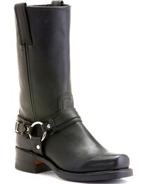 "Frye Women's Belted Harness 12"" Motorcycle Boots, , hi-res"