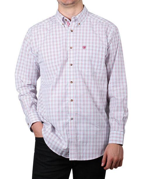 Ariat Men's Nessfield Long Sleeve Performance Shirt, Multi, hi-res