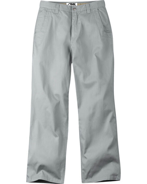 Mountain Khakis Men's Relaxed Fit Lake Lodge Twill Pants , Grey, hi-res