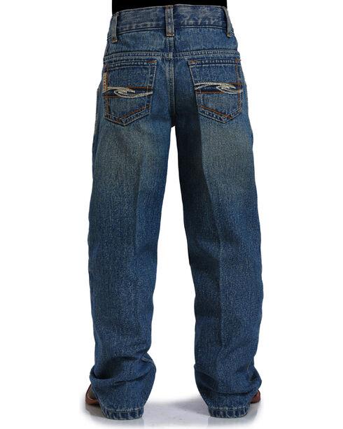 Cinch Boys' Tanner Boot Cut Leg Jeans, Indigo, hi-res