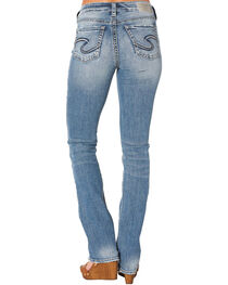 Silver Jeans Women's Avery Slim Boot Cut Jeans, , hi-res
