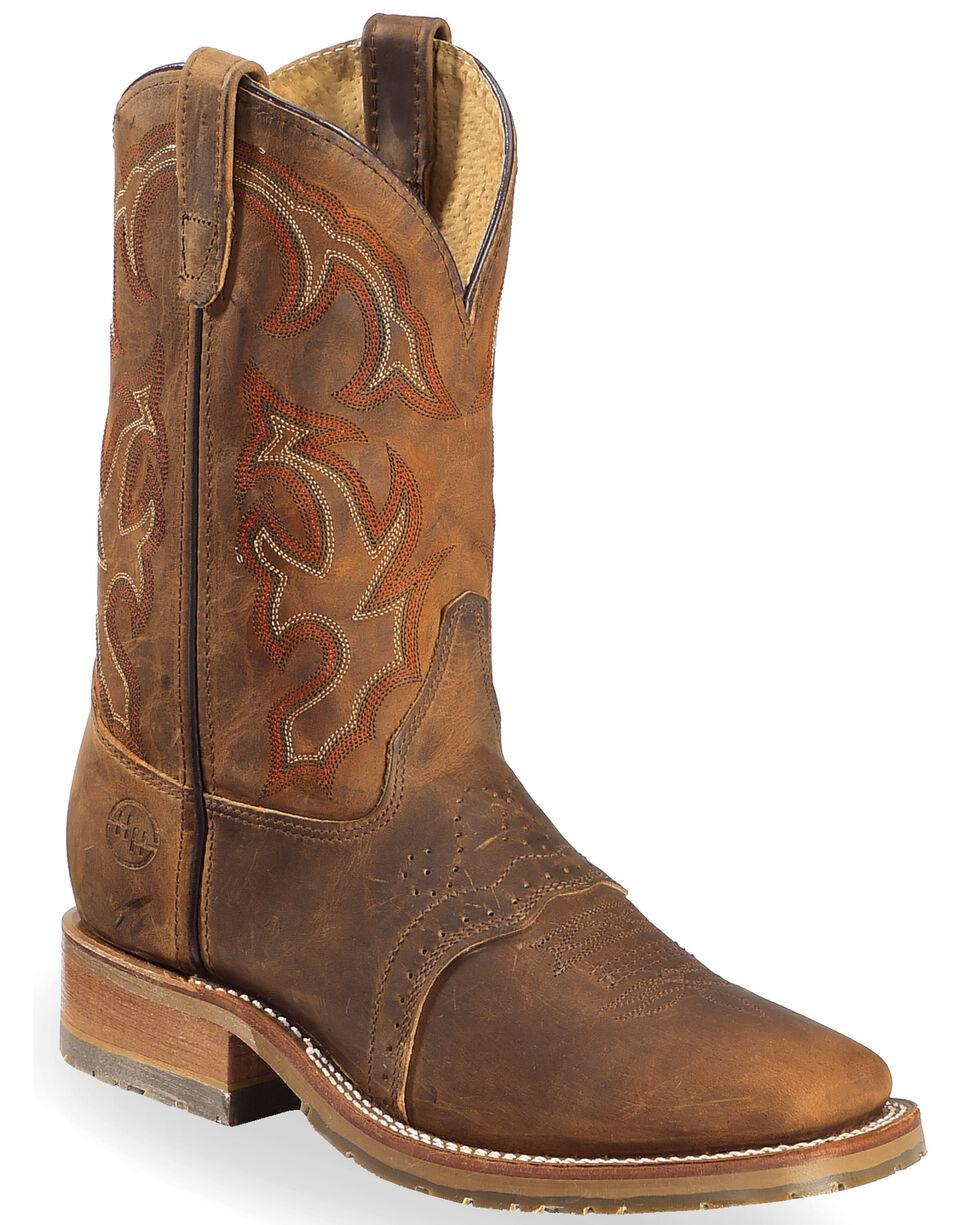 Double-H Men's ICE Roper Boots, Tan, hi-res