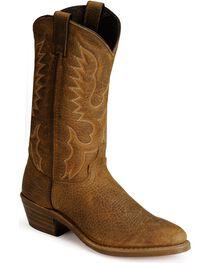 """Abilene Men's 12"""" Bison Western Boots, , hi-res"""