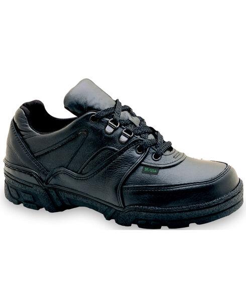 Thorogood Men's Postal Certified Code 3 Enforcer Work Shoes, Black, hi-res