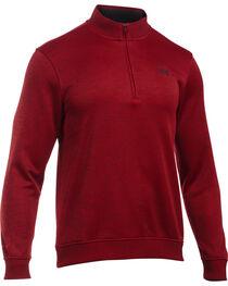 Under Armour Men's Red Storm Sweater Fleece 1/4 Zip Pullover , , hi-res