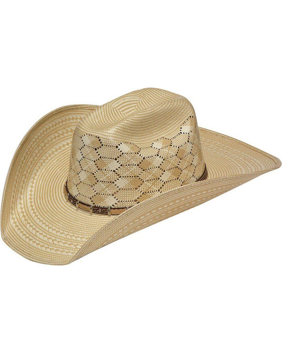Twister 10X Shantung Bonanza Straw Cowboy Hat, Tan, hi-res