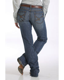 Cinch Women's Indigo Kylie Slim Fit Jeans - Boot Cut , , hi-res