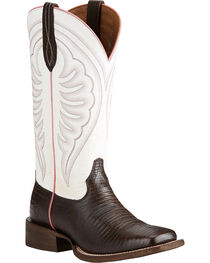 Ariat Women's Circuit Shiloh Lizard Print Cowgirl Boots - Square Toe, , hi-res
