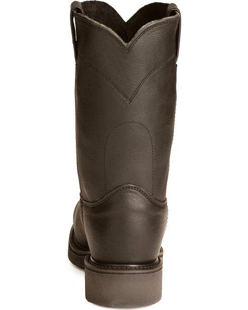 Justin Men's Work Boots, Black, hi-res