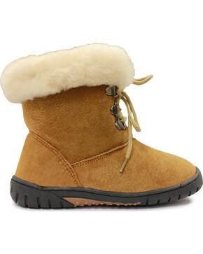 Lamo Footwear Girl's Bianca Boots, Chestnut, hi-res