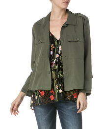 Miss Me Women's Get Ready to Ruffle Jacket, , hi-res